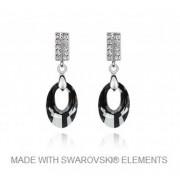 Oorbellen met Swarovski Elements