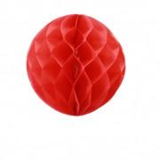 SkyLantern® Original Boule chinoise alvéolée 30 cm Rouge