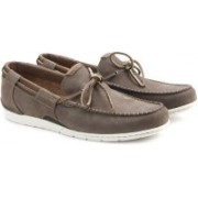 Clarks UnGraysen Sail Men Genuine Leather Boat Shoes For Men(Brown)