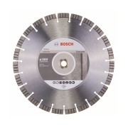 Bosch - Best for Concrete - Disc diamantat de taiere segmentat, 350x25.4/20x3.2 mm, taiere uscata