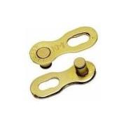 Emenda de Corrente MissingLink 9v KMC Gold Dourada