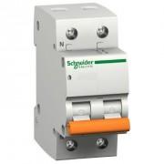 Schneider Interruttore Magnetotermico Doma47 1p+n 16a 4500a Curva C