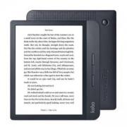 Четец за е-книги Kobo Libra H2O, 7.0 инча (1680 x 1264) 300 PPI E Ink Carta, WiFi, водоустойчив IPX8, черен, N873-KU-BK-K-EP