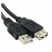 Cablu USB 2.0 A tata- A mama 1.8m VCOM