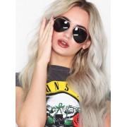 NLY Accessories Pilot Sunglasses Solglasögon Svart