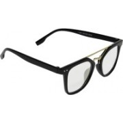 Criba Retro Square Sunglasses(Clear)