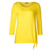STREET ONE Soft shirt Femke - sunshine yellow