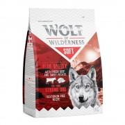 Wolf of Wilderness Prova nu: 3 x 1 kg Wolf of Wilderness Adult Soft & Strong torrfoder - Soft Chicken, Soft Beef & Soft Lamb (3x1kg)
