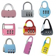 CJSJ Resettable combination PadLock Number Bag Safety Lock portable quality product set of 1