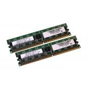 Memorie Desktop DDR2 2x512MB (1GB) Frecventa 800 MHz Diverse Firme