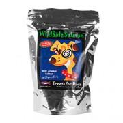 WILDSIDE SALMON (Wild Alaskan Salmon) Crunchy Treats for Dogs (6 oz) 170 Grams