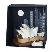 nanoblocks Pn115 Pn - Sydney Opera House Building Kit