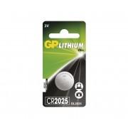 Baterie buton cu litiu CR2025 GP LITHIUM 3V/170 mAh