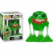 Pop! Vinyl Ghostbusters - Slimer Traslucido Figura Pop! Vinyl Esclusiva (ESCLUSIVA VIP)