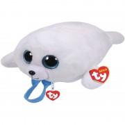 Ty Beanie Pluche Ty Beanie witte zeehond rugzak Icy voor kinderen