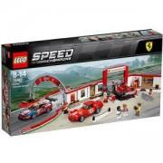 Конструктор ЛЕГО СПИЙД ШАМПИОНИ - Ferrari гараж, LEGO Speed Champions, 75889