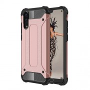 Huawei P20 Full-body Rugged TPU + PC Combination Back Cover Case (Rose Gold)