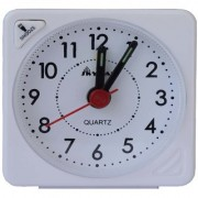 VITREND(R-TM)New Skymax Non-Ticking Beep Alarm Clock with Light Snooze Battery Powered Clock(Sent asper Available Color)