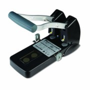 Perforator 150 Coli Model P-1500 Noki negru Metal + Plastic Perforator birou 141-240 coli cu 2 perforatii