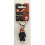 LEGO Super Heroes Black Widow 2016 Key Chain 853592