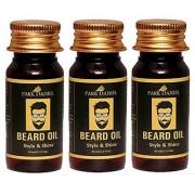 Park Daniel Premium Beard Oil combo pack of 3 No.35 ml Bottles(105 ml)