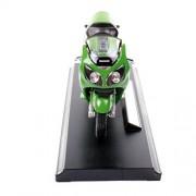 Welly 1:18 Kawasaki Ninja ZX-12R Motorcycle Model Collection (Green) (L x W x H),11 x 6 x 3