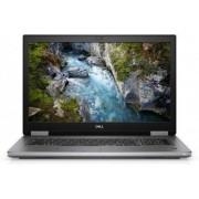 "Laptop Dell Precision 7540 (Procesor Intel® Core™ i9-9980HK (16M Cache, up to 5.00 GHz), Coffee Lake, 15.6"" FHD, 32GB, 1TB SSD, nVidia Quadro RTX 3000 @6GB, Linux, Argintiu)"