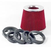 Levegőszűrő sport MT2502R piros + 3 szűkítő