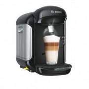 Espressor de cafea Bosch Tassimo Vivy II putere de 1300w 3.3 bar 0.7l autocuratare si decalcifiere capsule culoare Negru