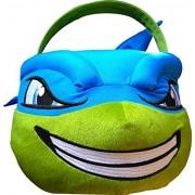 Teenage Mutant Ninja Turtles Easter Jumbo Plush Basket Egg Hunting , Easter Activities (Leonardo)