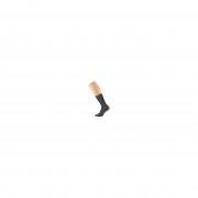 Sarlini Zwarte dames party glitter sokken lurex maat 36-41 Zwart