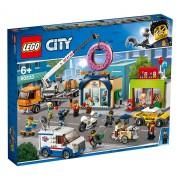 Lego City Town (60233). Inaugurazione della ciambelleria