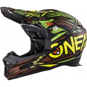 Oneal O´Neal Fury RL Synthy Casco Negro/Verde M (57/58)