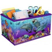 Puzzle 3D Ravensburger - Storage Box - Underwater World, 216 piese (12115)