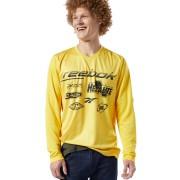 Reebok Classics Advance T-shirt - Toxic Yellow - Size: Extra Small