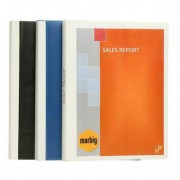 MARBIG CLEARVIEW DISPLAY BOOK A4 BLUE 24 POCKET