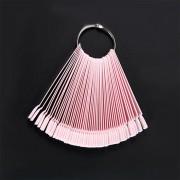 DW4Trading® Nagellak waaier roze 50 stuks