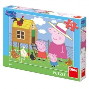 Puzzle - Peppa Pig - Puisorii (24 piese)