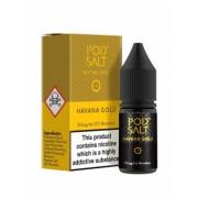 Lichid Tigara Electronica Premium Pod Salt Havana Gold, 10ml, cu Nicotina, 50VG / 50PG, Fabricat in UK, Calitate Premium