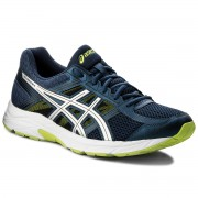 Обувки ASICS - Gel-Contend 4 T715N Dark Blue/Silver/Safety Yellow 4993