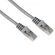 Мрежов пач кабел 0.5м UTP сив - HAMA-46740