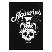 KILLSTAR Üdvözlő kártya - Aquarius - FEKETE - KSRA000450