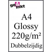 (Foto) papier Huismerk Glossy Photo-Papier dubbelzijdig (A4) 220g/m² (50 st.)