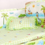 EH 100*110*58cm/60cm 5pcs/Set De Ropa De Cama De Algodón De Promoción Baby Niños Set - Multicolor