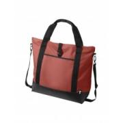 Geanta tote Laptop Everestus WR 15 inch 300D poliester cu tarpaulin rosu saculet de calatorie si eticheta bagaj incluse