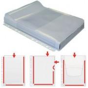Grafoplás Funda perforada Grafoplás A4 11 taladros Transparente polipropileno 150 micras 21 (a) x 27 9 (h) cm 5 unidades