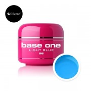 Gel uv Base One Color Light Blue 5g