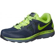 Nike Men's Dual Fusion Lite 2 Msl Obsidian,Volt,Magnet Grey Running Shoes -10 UK/India (45 EU)(11 US)