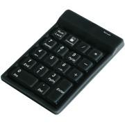 KEYSONIC 12523 - Nummernblock, USB, schwarz