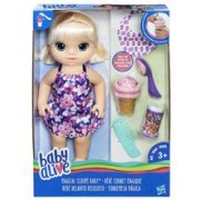 Papusa Hasbro Baby Alive Doll Magical Scoops Baby Blonde